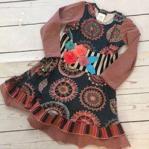 Zaza Couture size 4 beautiful worn once!